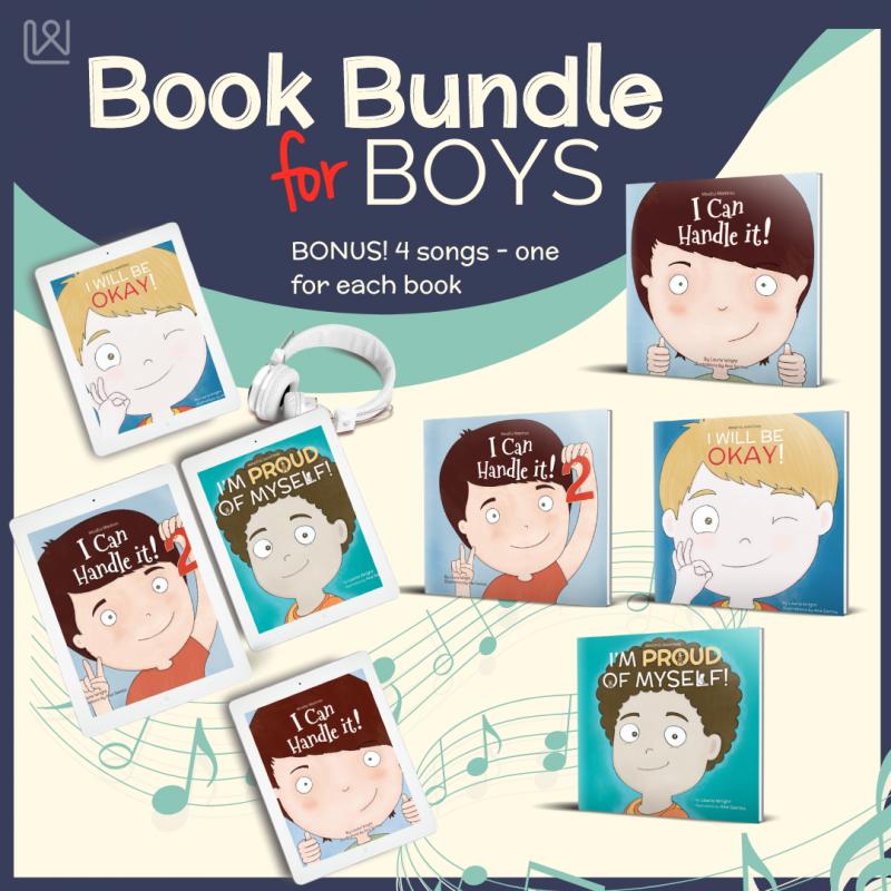 Mindful Mantras - Book bundle for boys