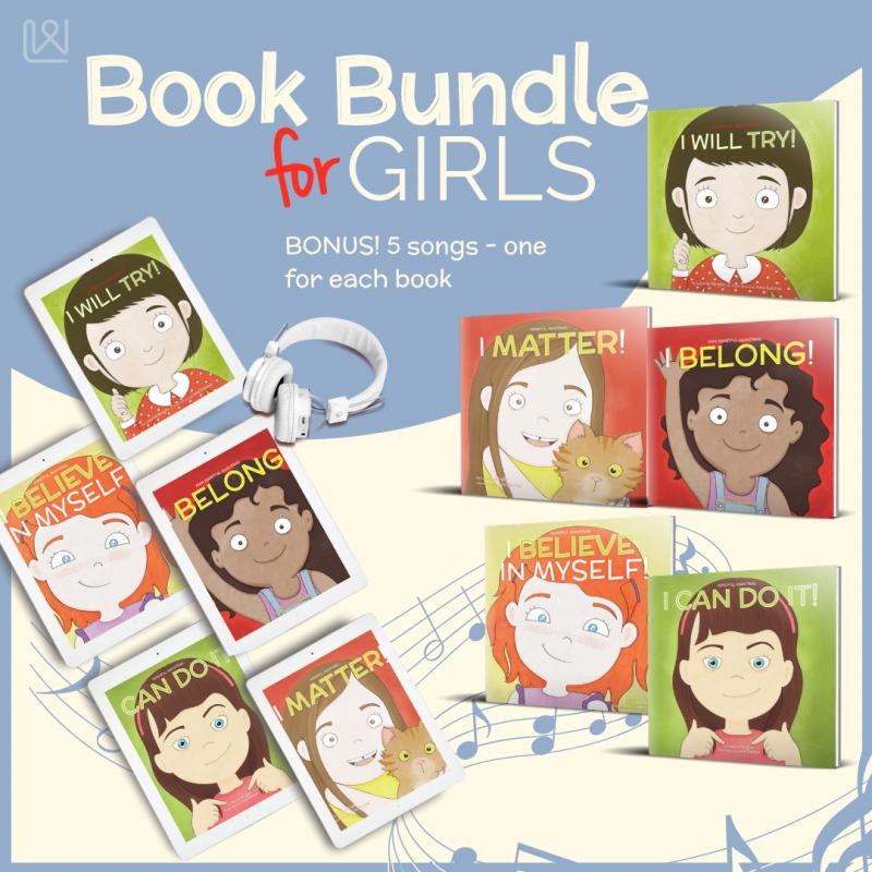 Mindful Mantras - Book Bundle for Girls