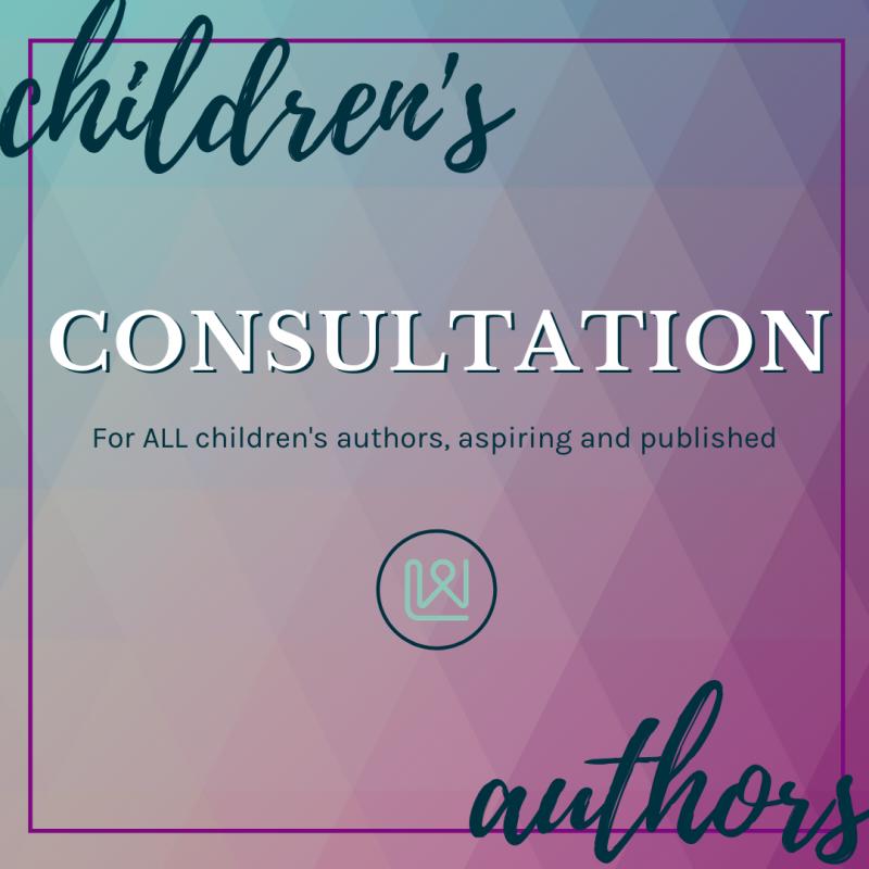 Children's Author consultation image