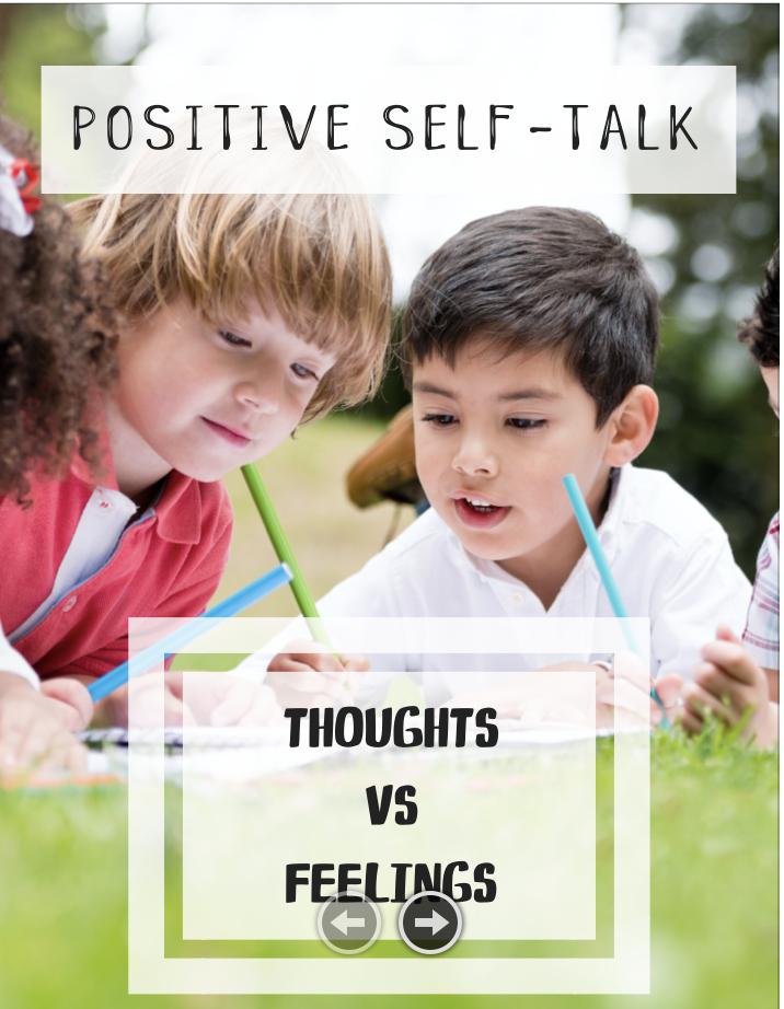 Thoughts vs Feelings lesson plan