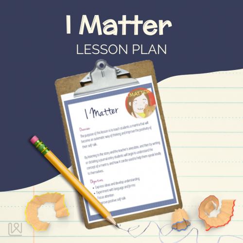 I Matter - Lesson plan