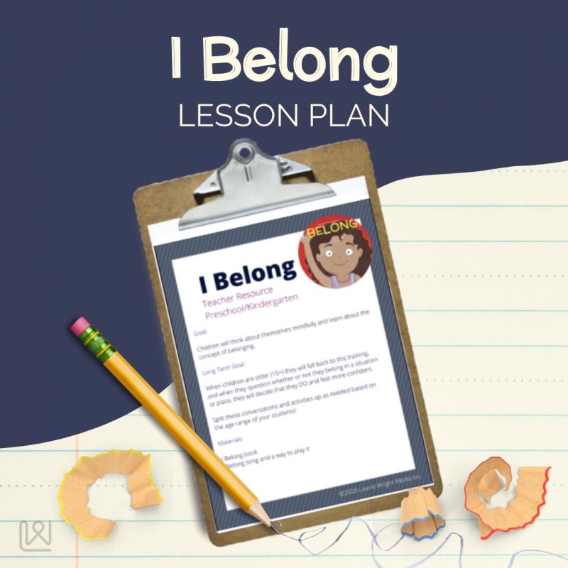 I Belong - Lesson Plan
